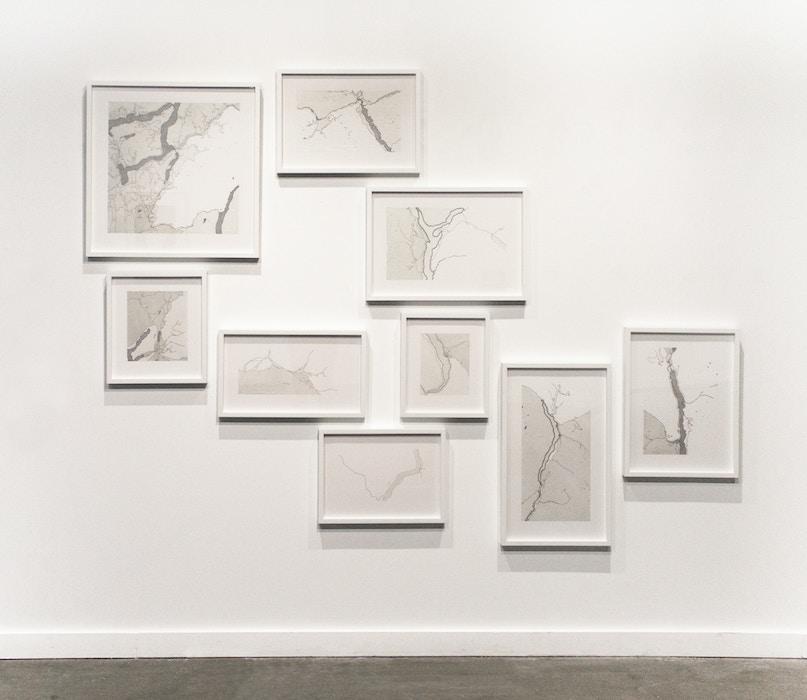 Emma Nishimura, Constructed Narratives - Installation View 2015