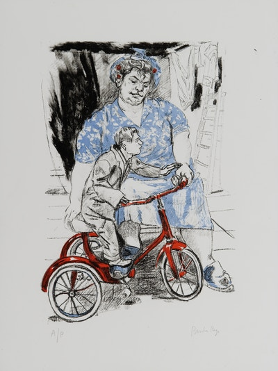 "Rego, Paula ""Bicycle Woman"" 2004"