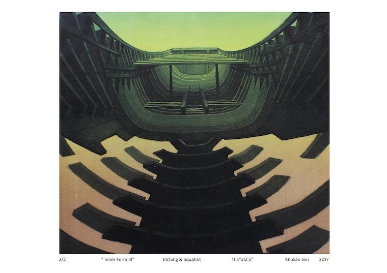 """Khokan, Giri, """"Inner form III"""", 2017"""