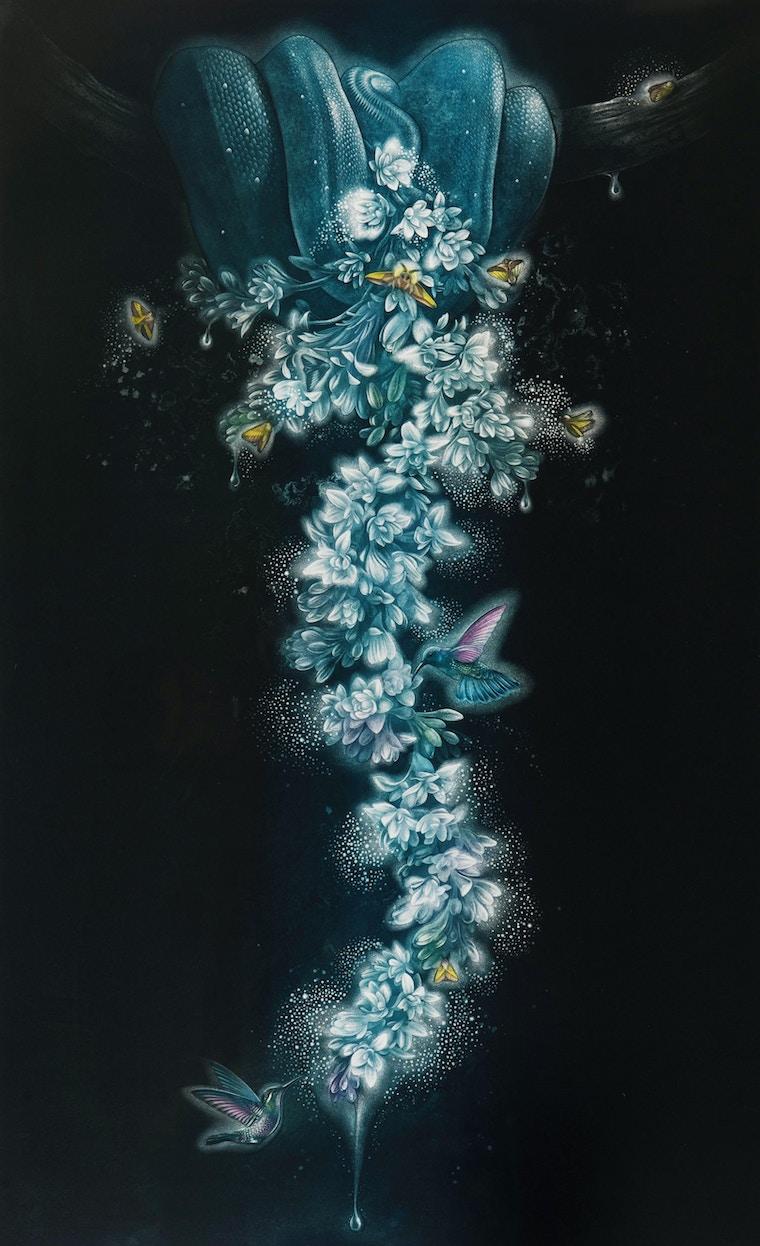 """Homsombut, Pimpen, """"Tuberose Flower"""", 2019"""