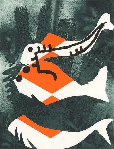 Charline Von Heyl 2020 The Fish Cant Hear You