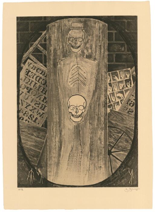 Jasper Johns, Untitled, 2018